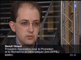 Interview France 3 du 12 juillet 2006