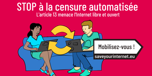 Photo d'illustration de la campagne Save Your Internet