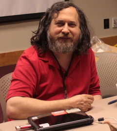 Photo de Richard Stallman